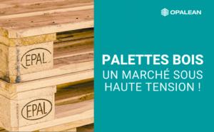 palette bois Epal empilées et titre article blog