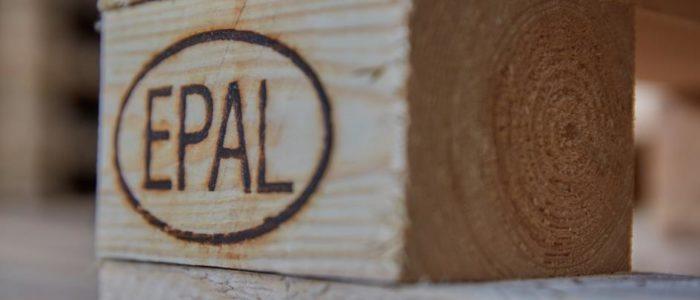 palettes Europe détails_logo EPAL