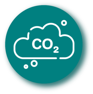 Moins de CO2 émis