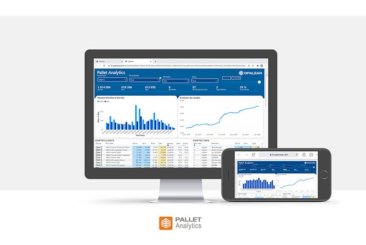 Pallet Analytics, le nouvel outil d'analyse et de reporting par Opalean