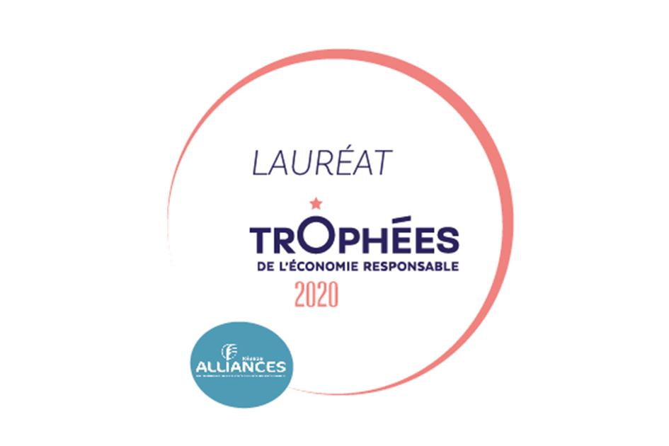 Opalean reçoit le Trophée de l'Économie Responsable 2020