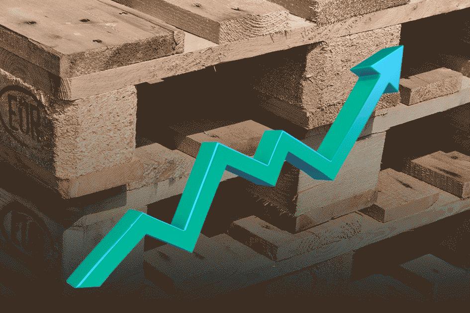 Vers une augmentation du prix de la palette bois