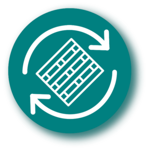 Palettes Europe Optimisation des retours et rotatione - icone